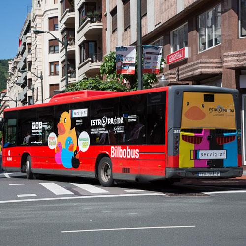 Rotulación de Autobuses - Servigraf