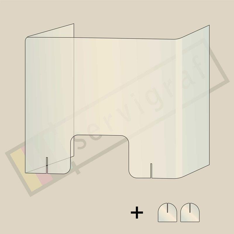 Mamparas portátiles plegables - Servigraf