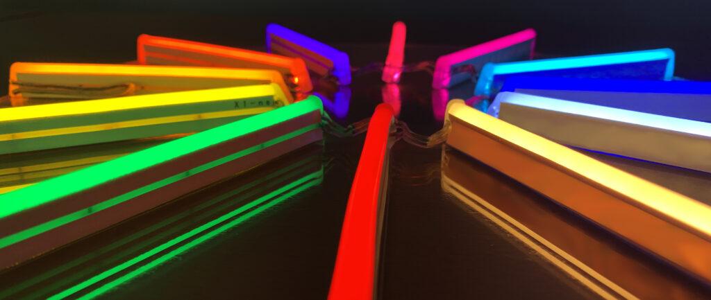 Neón Flex de colores